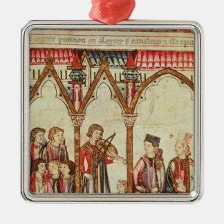 Group of Troubadours Christmas Ornament
