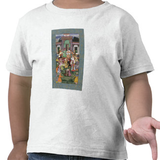 Group of Whirling Dervishes, from the Large Clive Tshirt
