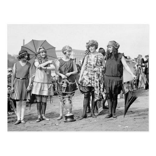 Group of Winners: 1922 Postcards