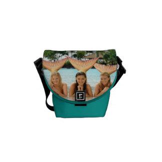 Group On The Beach Courier Bag
