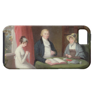 Group Portrait at a Drawing Room Table (oil on can Case For The iPhone 5