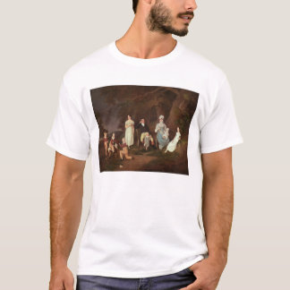 Group portrait of a Squire, his Wife and Children T-Shirt