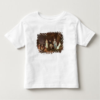 Group portrait of a Squire, his Wife and Children Toddler T-Shirt