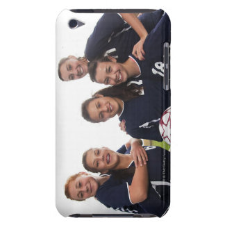 group portrait of teen girl soccer players iPod touch cover