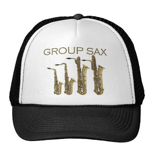 Group Sax Hat