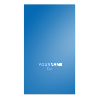 Groupon Dazzling Blue Pack Of Standard Business Cards