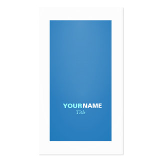 Groupon Modern Dazzling Blue Pack Of Standard Business Cards