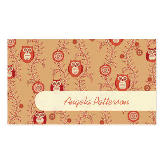 Groupon Owls Mommy Calling Cards Pack Of Standard Business Cards