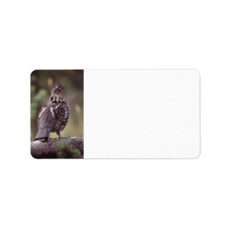 grouse address label