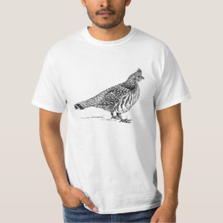 Grouse Bird Sletch T-Shirt