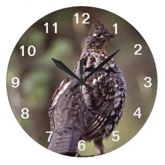 grouse wall clock