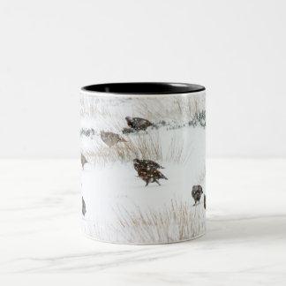 Grouse in the Snow Mug