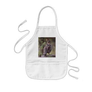 grouse kids apron