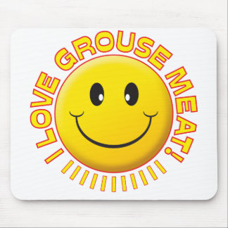 Grouse Meat Smile Mouse Mat