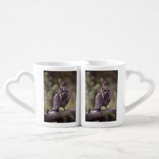 grouse couple mugs