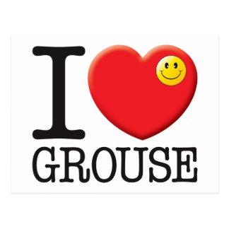 Grouse Post Card