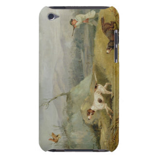Grouse Shooting (oil on canvas) iPod Case-Mate Cases
