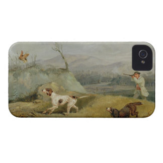 Grouse Shooting (oil on canvas) iPhone 4 Case