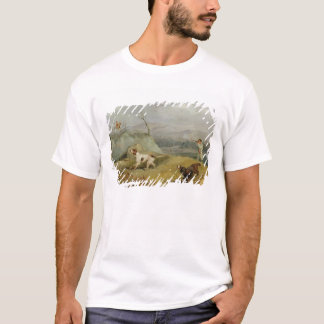 Grouse Shooting (oil on canvas) T-Shirt