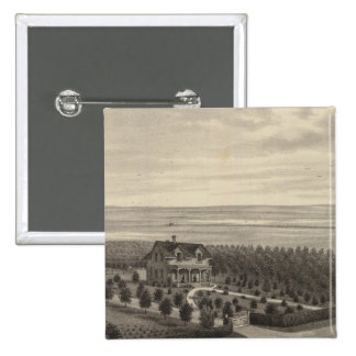 Grove Farm, Hays City, Kansas 15 Cm Square Badge