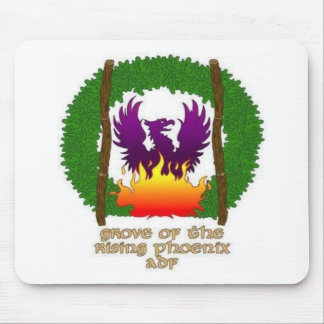 Grove logo with text mouse mat