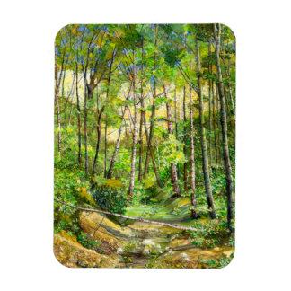grove rectangular photo magnet