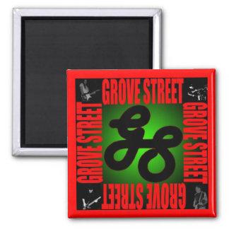Grove Street Refridgerator Magnet