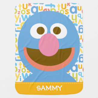 Grover Baby| Add Your Name Receiving Blanket