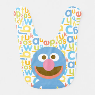 Grover Baby Bib
