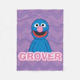 Grover Classic Style Fleece Blanket