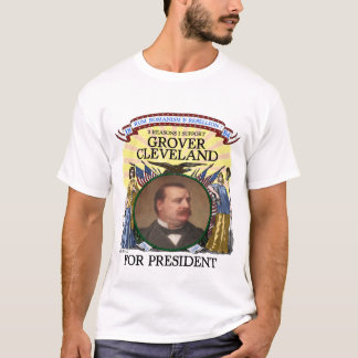 Grover Cleveland 1884 Campaign Tshirt Men's Light