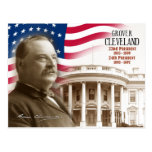 Grover Cleveland - 22nd & 24th President of the US Post Card