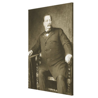 Grover Cleveland, 22nd and 24th President of th Un Canvas Print