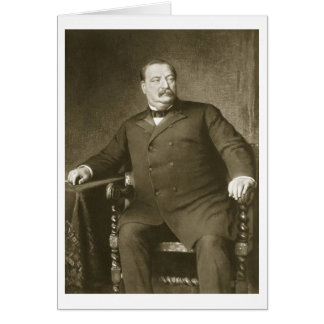 Grover Cleveland, 22nd and 24th President of th Un Card