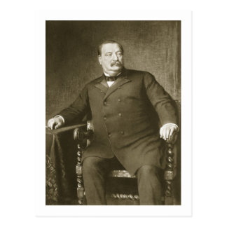 Grover Cleveland, 22nd and 24th President of th Un Postcard