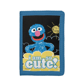 Grover Cute Trifold Wallet