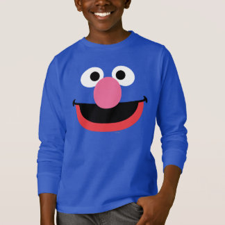 Grover Face Art T-Shirt