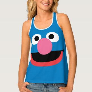 Grover Face Art Tank Top