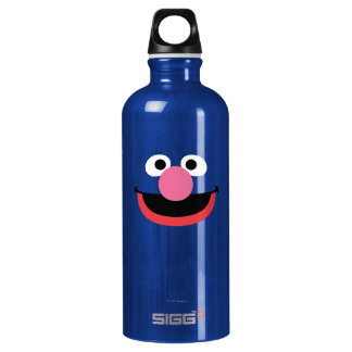 Grover Face Art Water Bottle