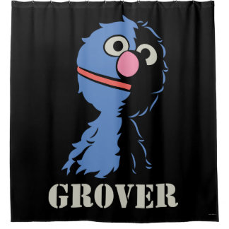Grover Half Shower Curtain