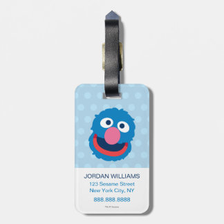 Grover Head 2 Luggage Tag