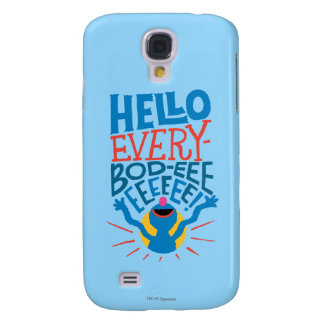 Grover Hello Galaxy S4 Case