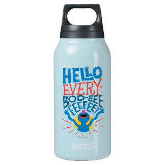 Grover Hello Insulated Water Bottle