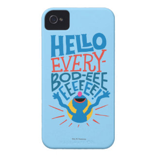 Grover Hello iPhone 4 Covers