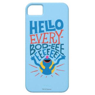 Grover Hello iPhone 5 Case