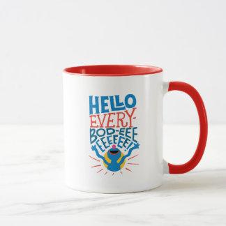 Grover Hello Mug