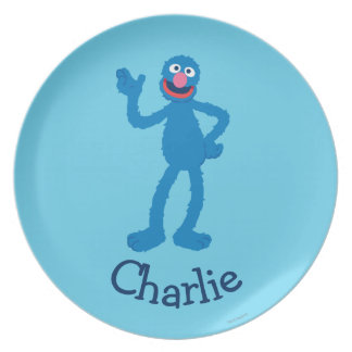 Grover Standing | Add Your Name Plate
