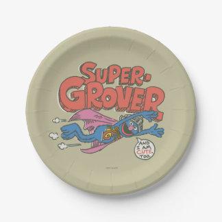 Grover Vintage Kids 1 Paper Plate