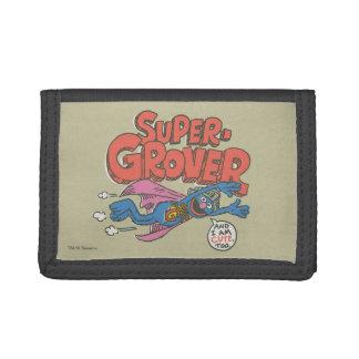 Grover Vintage Kids 1 Trifold Wallet