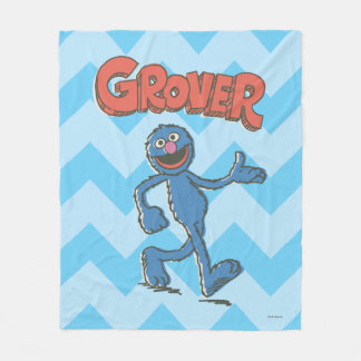 Grover Vintage Kids 2 Fleece Blanket